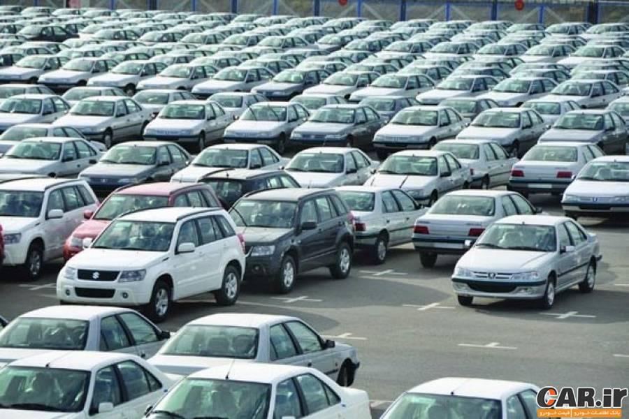 قیمت ماشین غیر صفر