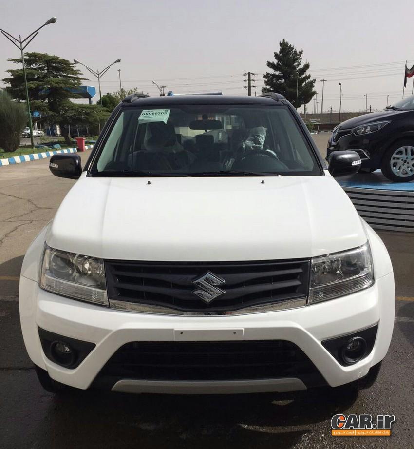فیس لیفت گرند ویتارا در ایران خودرو