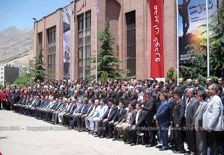 گزارش تصویری از رونمایی محصولات جدید چری در ایران