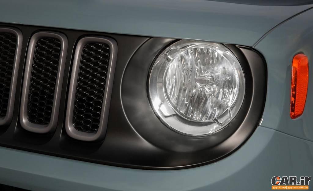 جیپ رنِگید -نمای چراغ جلو