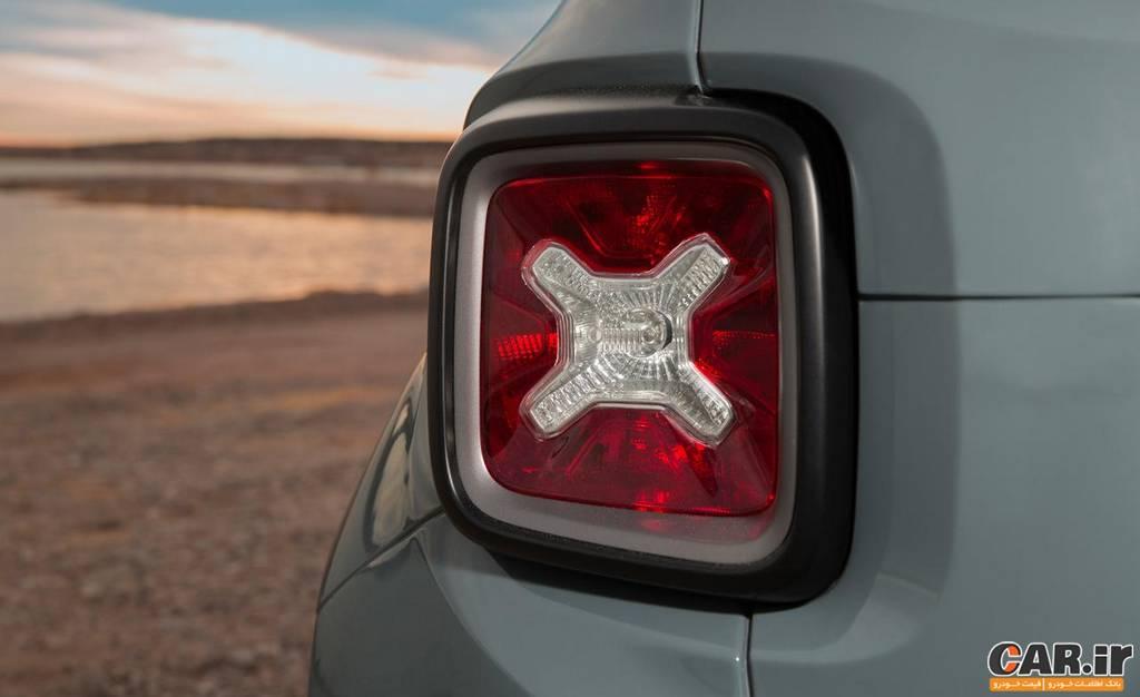 جیپ رنِگید -نمای چراغ عقب