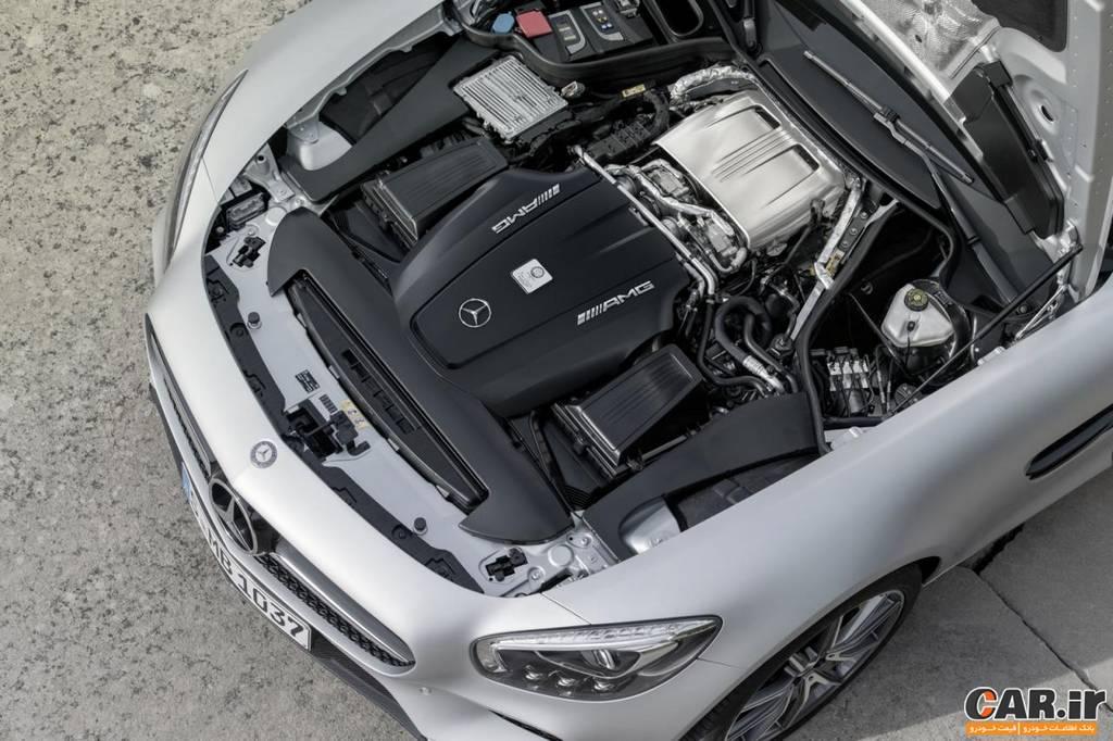 مرسدس AMG -نمای موتور