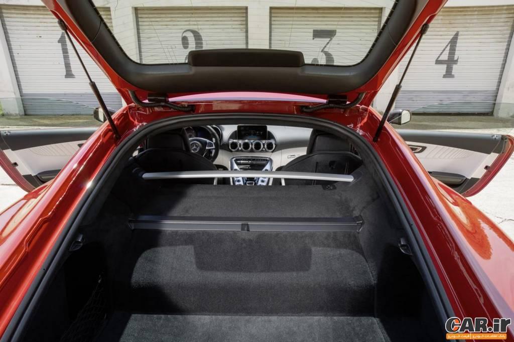 مرسدس AMG -نمای صندوق عقب