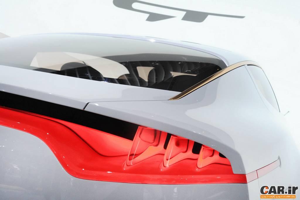 کیا GT -نمای چراغ عقب