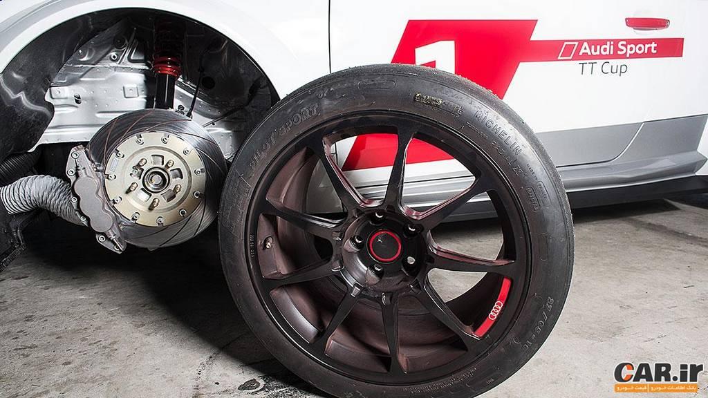 آئودی-چرخ TT مسابقه ای