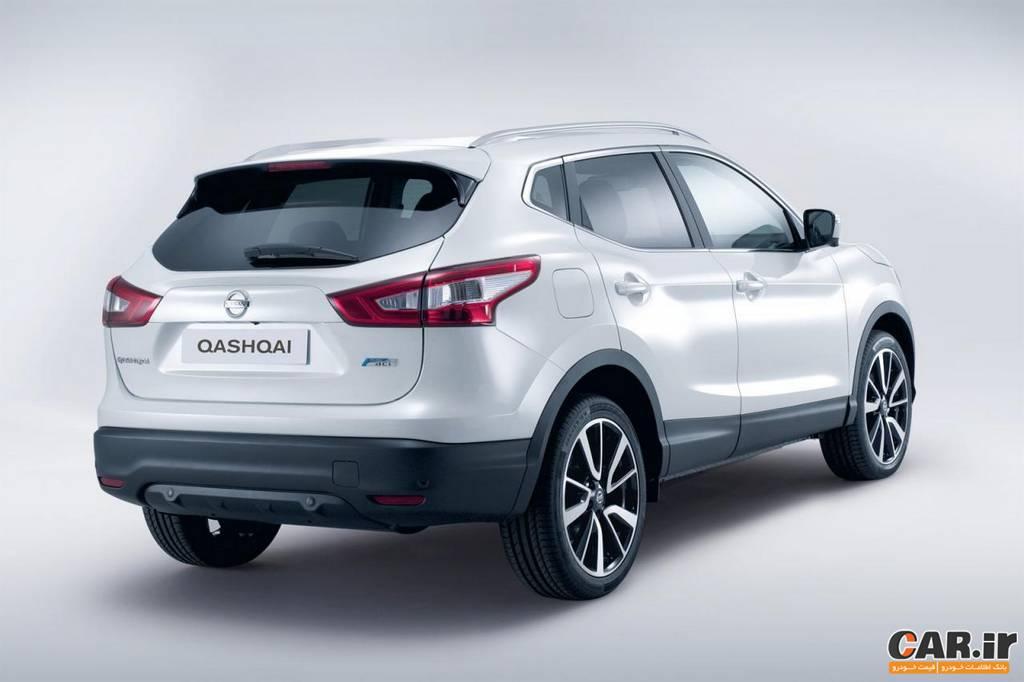 مشخصات نیسان قشقایی قیمت نیسان قشقایی Nissan Qashqai