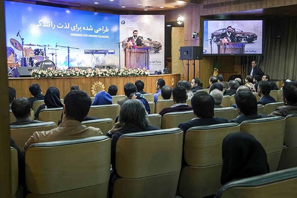 رونمایی از ب ام و در ایران