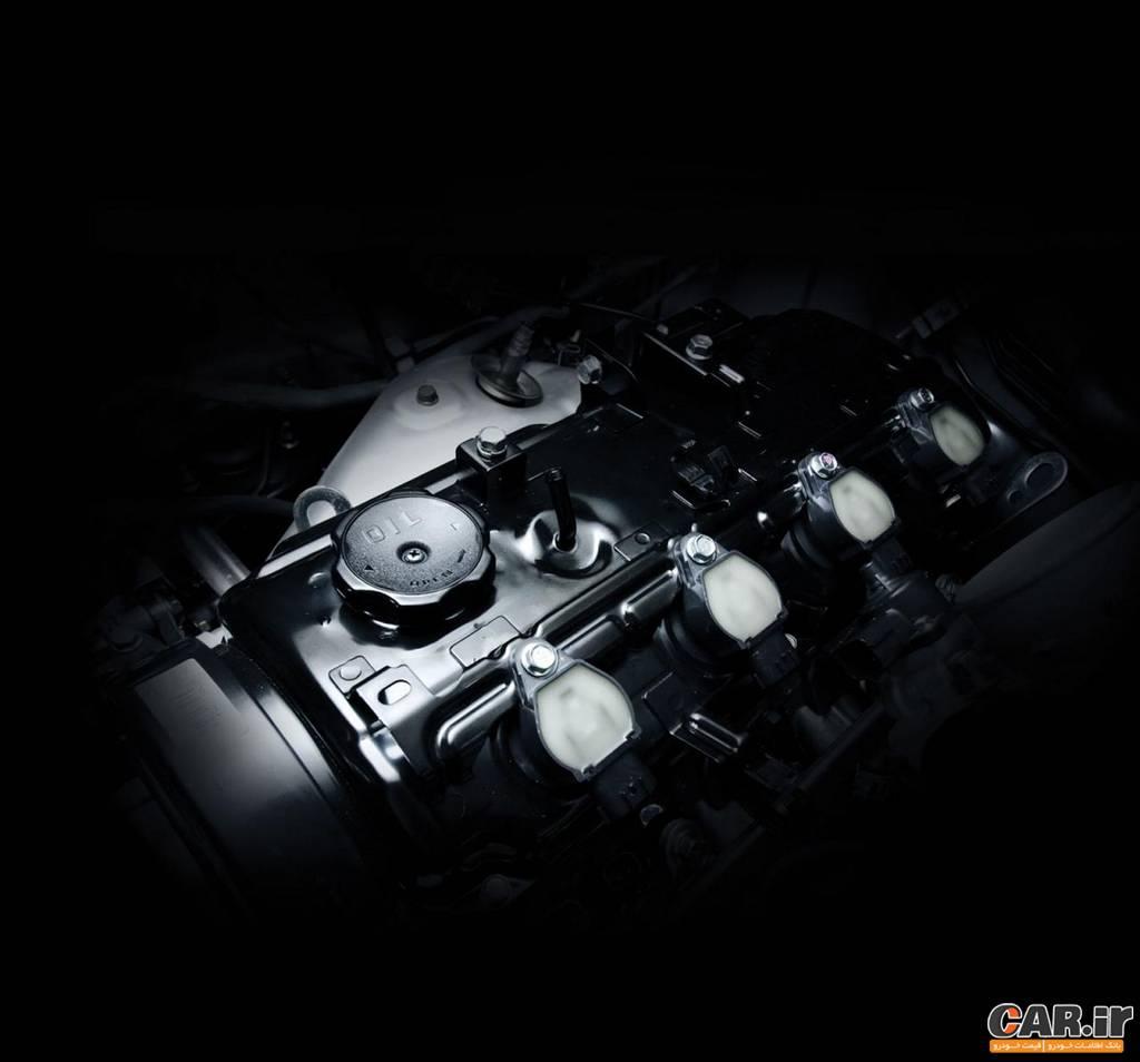 میتسوبیشی ترایتون-نمای موتور