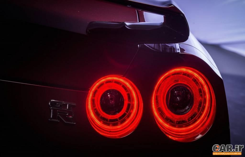 نیسان-نمای چراغ عقب  GT-R