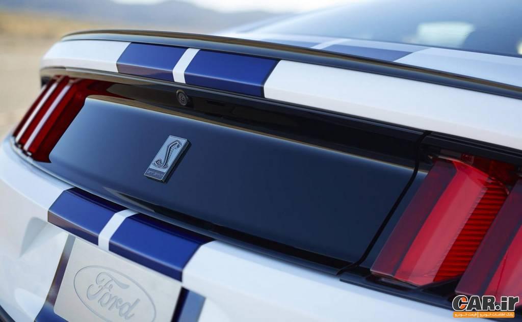 شلبی GT350-نمای عقب