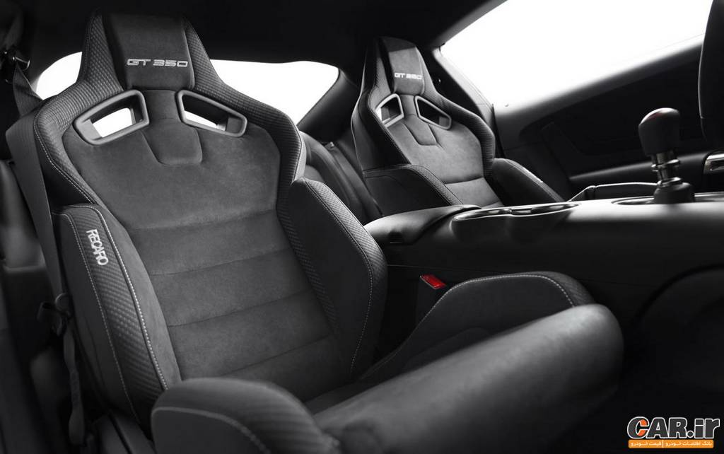 شلبی GT350-نمای داخل